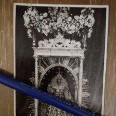 Fotografía antigua: ANTIGUA TARJETA POSTAL DE NTRA. SRA. DE LAS NIEVES PATRONA DE LA ISLA DE LA LAGUNA.. Lote 100240579