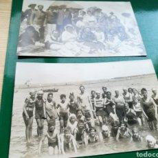 Fotografía antigua: DOS FOTOS ANTIGUAS DE CARTAGENA. 1932. CON CARTAGENEROS DE LA ÉPOCA. Lote 100241095