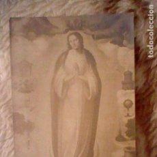 Fotografía antigua: INMACULADA CONCEPCION TARJETA POSTAL SEMINARIO ANTIGUA G C VALENCIA . Lote 100648551