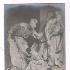 Fotografía antigua: JOSEP LLIMONA (1864-1934) ESCULTOR MODERNISTA. FOTOGRAFÍA DE ÉPOCA DE FRANCESC SERRA. . Lote 100712315