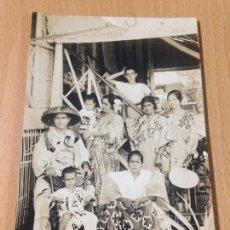 Fotografía antigua: ANTIGUA FOTOGRAFIA TARJETA POSTAL FILIPINAS ? MANTONES DE MANILA FAMÍLIA CARTAGENA MURCIA ARTURA. Lote 100747547