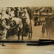 Fotografía antigua: ANTIGUA FOTO FOTOGRAFIA TARJETA POSTAL ALCOY MOROS Y CRISTINOS AÑOS 50 (17). Lote 101227651