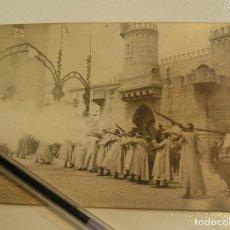 Fotografía antigua: ANTIGUA FOTO FOTOGRAFIA TARJETA POSTAL ALCOY MOROS Y CRISTINOS AÑOS 20 (17). Lote 101227927