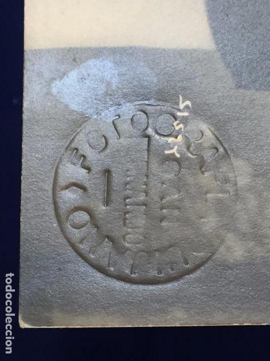 Fotografía antigua: fotografia joaquin pery blanco negro traje armada naval militar 1/2sxx 9 x 14 cm estudio quijano - Foto 2 - 101282903