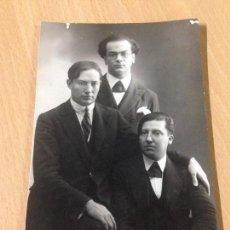 Fotografía antigua: ANTIGUA FOTOGRAFIA TARJETA POSTAL PERSONAJES CARTAGENA MURCIA 1925. Lote 101638907