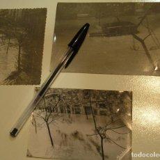 Fotografía antigua: ANTIGUA FOTO FOTOGRAFIA LOTE DE 3 FOTOS ORIGINALES CON CUÑO POR DETRAS RIADA DE VALENCIA 1957 (17). Lote 101770867