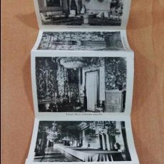 Fotografía antigua: DESPLEGABLE DE FOTO POSTALES DE LAS DEPENDENCIAS DEL PALACIO REAL. 9 X 5.5 CM CADA FOTOPOSTAL. W. Lote 101797095