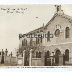 Fotografía antigua: R.SAS DIVINA PASTORA. CIEZA, MURCIA. 1947. COPIAS E. UTRILLA. VALENCIA.. Lote 102516771