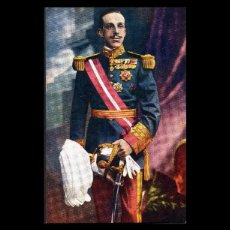 Fotografía antigua: FOTOGRAFIA, TARJETA POSTAL, S.M. EL REY DON ALFONSO XIII, REY DE ESPAÑA.. Lote 102535683