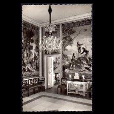 Fotografía antigua: FOTOGRAFIA, EL ESCORIAL, PALACIO SALETA DE GOYA. TAPICES (SIGLO XVIII). Lote 102544631