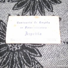 Fotografía antigua: 15 FOTOS , SANTUARIO DE LOYOLA - AZPEITIA-. Lote 102552179