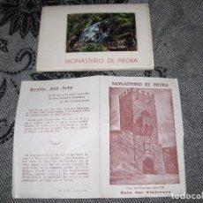 Fotografía antigua: 10 POSTALES - MONASTERIO DE PIEDRA. Lote 102552815