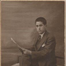 Fotografía antigua: TARJETA POSTAL FOTOGRAFIA DE ESTUDIO - FOTÓGRAFO J.G.PRATS - BARCELONA (GRACIA). Lote 102713191