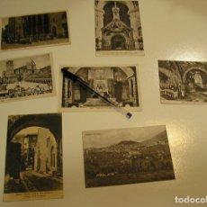 Fotografía antigua: ANTIGUA TARJETA POSTAL ASSISI LOTE DE 7 POSTALES SIN CIRCULAR Y MUY BUEN ESTADO (17). Lote 102754075