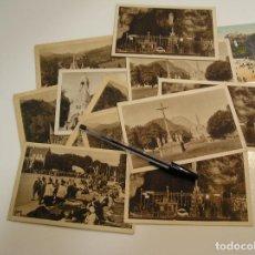 Fotografía antigua: ANTIGUA TARJETA POSTAL LOURDES LOTE DE 12 POSTALES SIN CIRCULAR Y MUY BUEN ESTADO (17). Lote 102754523