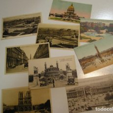 Fotografía antigua: ANTIGUA TARJETA POSTAL PARIS LOTE DE 9 POSTALES SIN CIRCULAR Y MUY BUEN ESTADO (17). Lote 102754947