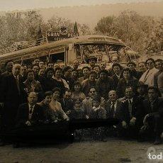 Fotografía antigua: ANTIGUA FOTO FOTOGRAFIA LEVANTE U D AUTOBUS DE AFICIONADOS AÑOS 50 (17). Lote 103208611