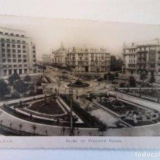 Fotografia antiga: BONITA FOTO POSTAL. BILBAO-PLAZA DE FEDERICO MOYUA. Nº 32. CIRCULADA. Lote 104251479