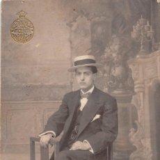 Fotografía antigua: TARJETA POSTAL -FOTOGRAFÍA L. SANCHEZ- VALENCIA. Lote 104866619
