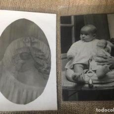 Fotografía antigua: LOTE POSTAL FOTOGRÁFICA BEBE - AÑOS 30-40. Lote 105350631