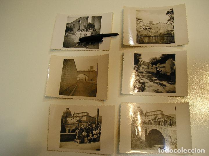 ANTIGUA FOTO FOTOGRAFIA BUÑOL ???? VALENCIA AÑOS 40 LOTE DE 8 FOTOS (17) (Fotografía Antigua - Tarjeta Postal)