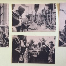 Fotografía antigua: CARTAGENA-CORONACION CANONICA DE LA VIRGEN DE LA CARIDAD- PATRONA DE CARTAGENA 1.923 SIETE POSTAL. Lote 105961875