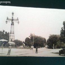 Fotografía antigua: ENTRADA AL PARQUE RIBALTA CASTELLON DE LA PLANA. Lote 106555619