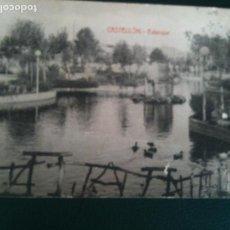 Fotografía antigua: ESTANQUE PARQUE RIBALTA CASTELLON DE LA PLANA. Lote 106555775