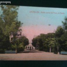 Fotografía antigua: ESTANQUE PARQUE RIBALTA CASTELLLON F,SEGARRA. Lote 106555955