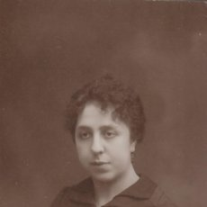 Fotografía antigua: BONITA FOTOGRAFÍA.TARJETA POSTAL. RETRATO DE MUJER. NIEPCE, FONTANELLA 22, BARCELONA. 1917.. Lote 106557903