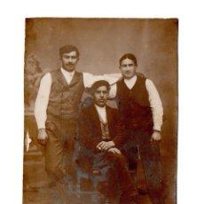 Fotografía antigua: FOTO POSTAL PRINCIPIO S XX PROCEDENTE DE LA MONTAÑA, SANTANDER. Lote 106585055