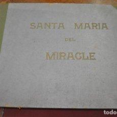Fotografía antigua: SANTA MARIA DEL MIRACLE MAGNÍFIC ÀLBUM DE FOTOGRAFIES IMATGES DE LA CREU DE TERME, PROCESSÓ, ETC MPB. Lote 107219211