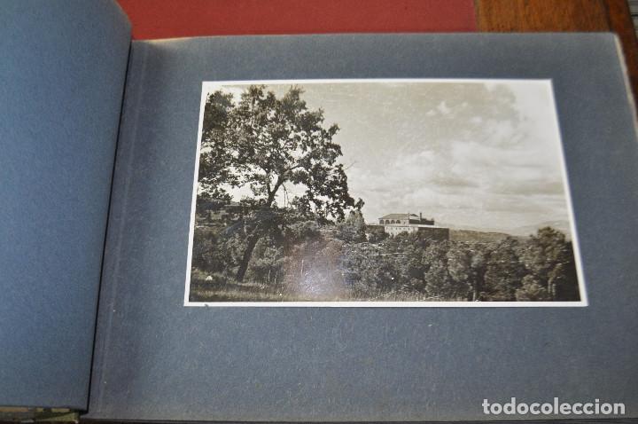 Fotografía antigua: SANTA MARIA DEL MIRACLE MAGNÍFIC ÀLBUM DE FOTOGRAFIES imatges de la creu de terme, processó, etc MPB - Foto 3 - 107219211