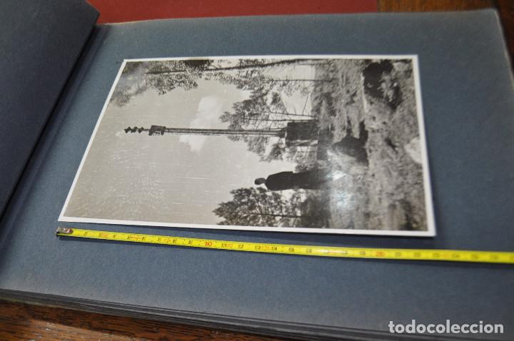 Fotografía antigua: SANTA MARIA DEL MIRACLE MAGNÍFIC ÀLBUM DE FOTOGRAFIES imatges de la creu de terme, processó, etc MPB - Foto 4 - 107219211