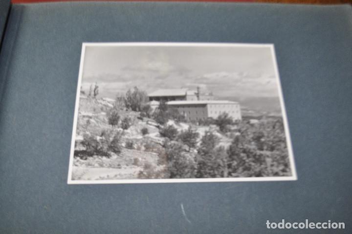 Fotografía antigua: SANTA MARIA DEL MIRACLE MAGNÍFIC ÀLBUM DE FOTOGRAFIES imatges de la creu de terme, processó, etc MPB - Foto 5 - 107219211