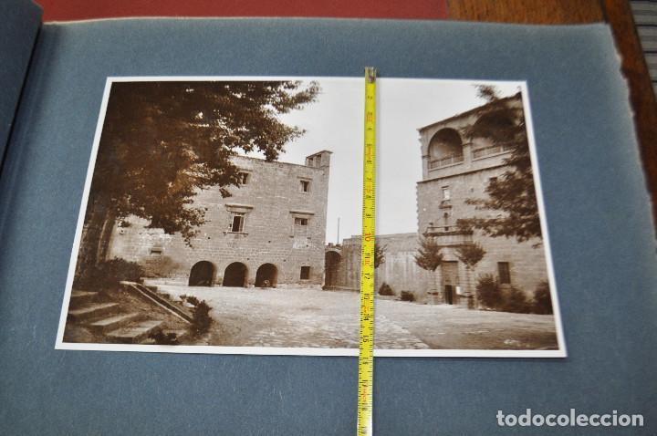 Fotografía antigua: SANTA MARIA DEL MIRACLE MAGNÍFIC ÀLBUM DE FOTOGRAFIES imatges de la creu de terme, processó, etc MPB - Foto 8 - 107219211