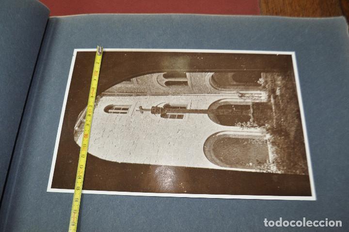 Fotografía antigua: SANTA MARIA DEL MIRACLE MAGNÍFIC ÀLBUM DE FOTOGRAFIES imatges de la creu de terme, processó, etc MPB - Foto 9 - 107219211