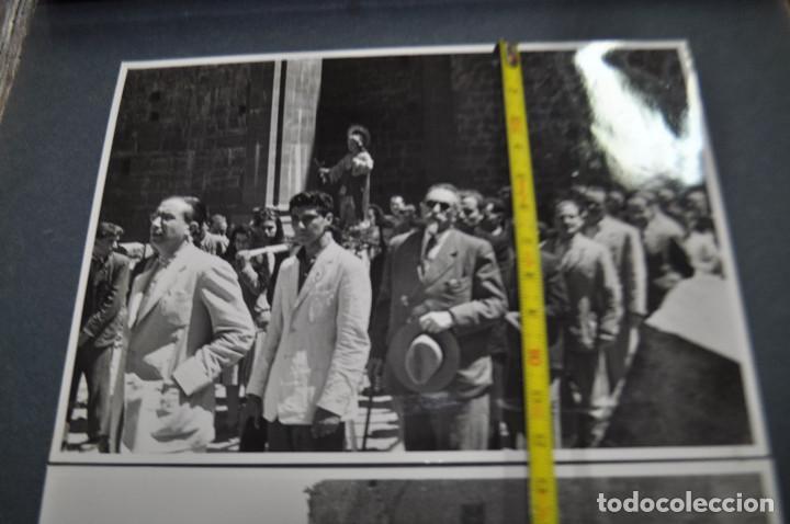 Fotografía antigua: SANTA MARIA DEL MIRACLE MAGNÍFIC ÀLBUM DE FOTOGRAFIES imatges de la creu de terme, processó, etc MPB - Foto 10 - 107219211