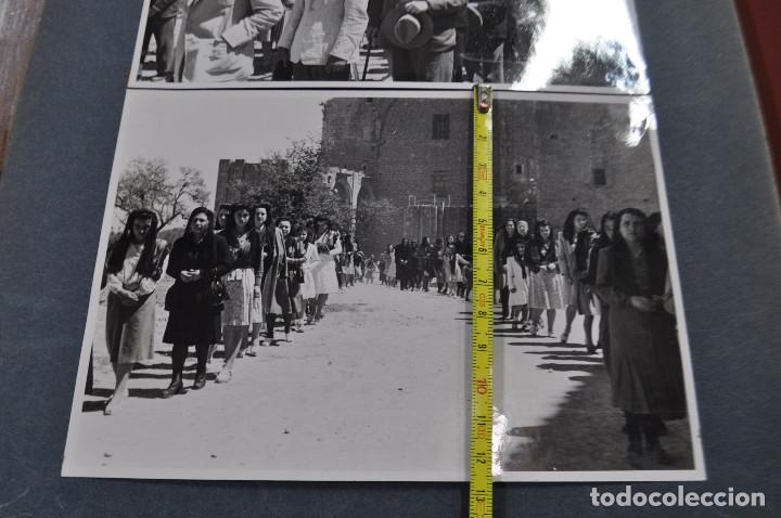 Fotografía antigua: SANTA MARIA DEL MIRACLE MAGNÍFIC ÀLBUM DE FOTOGRAFIES imatges de la creu de terme, processó, etc MPB - Foto 11 - 107219211