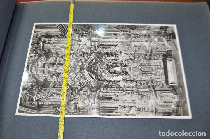 Fotografía antigua: SANTA MARIA DEL MIRACLE MAGNÍFIC ÀLBUM DE FOTOGRAFIES imatges de la creu de terme, processó, etc MPB - Foto 12 - 107219211
