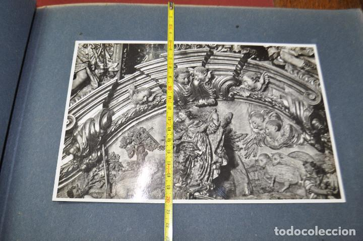 Fotografía antigua: SANTA MARIA DEL MIRACLE MAGNÍFIC ÀLBUM DE FOTOGRAFIES imatges de la creu de terme, processó, etc MPB - Foto 13 - 107219211