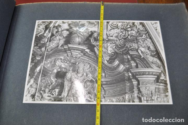 Fotografía antigua: SANTA MARIA DEL MIRACLE MAGNÍFIC ÀLBUM DE FOTOGRAFIES imatges de la creu de terme, processó, etc MPB - Foto 14 - 107219211