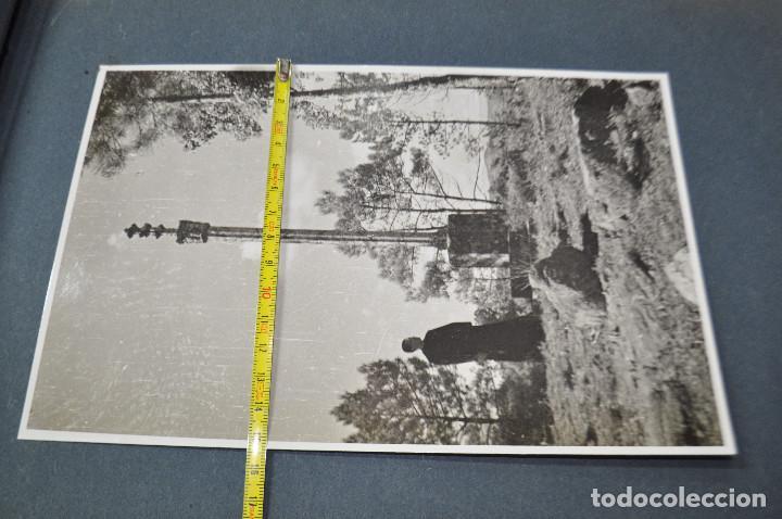 Fotografía antigua: SANTA MARIA DEL MIRACLE MAGNÍFIC ÀLBUM DE FOTOGRAFIES imatges de la creu de terme, processó, etc MPB - Foto 16 - 107219211