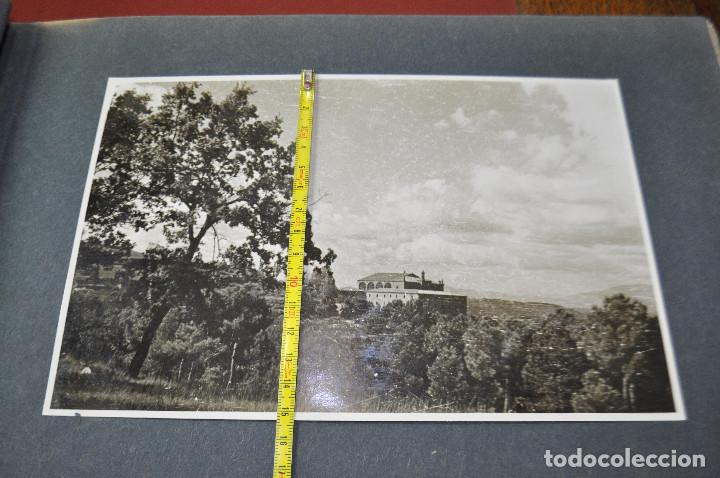 Fotografía antigua: SANTA MARIA DEL MIRACLE MAGNÍFIC ÀLBUM DE FOTOGRAFIES imatges de la creu de terme, processó, etc MPB - Foto 17 - 107219211
