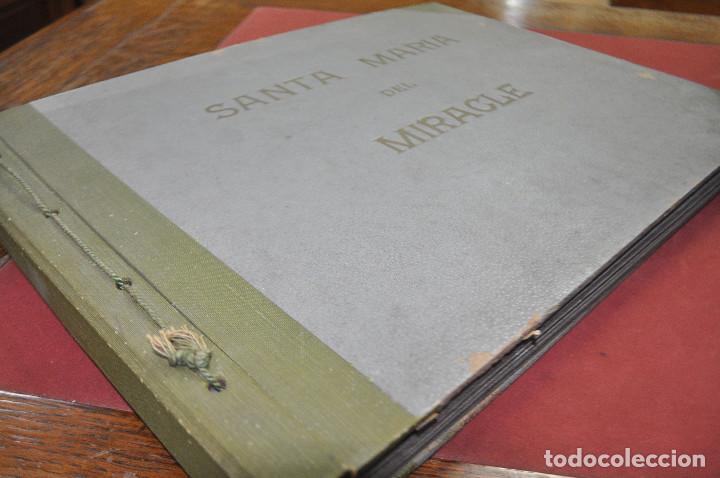 Fotografía antigua: SANTA MARIA DEL MIRACLE MAGNÍFIC ÀLBUM DE FOTOGRAFIES imatges de la creu de terme, processó, etc MPB - Foto 18 - 107219211