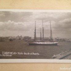 Fotografía antigua: ANTIGUA POSTAL TORREVIEJA ALICANTE VISTA DESDE EL PUERTO FOTO DARBLADE. Lote 107342191