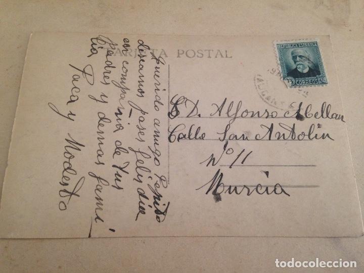 Fotografía antigua: ANTIGUA POSTAL TORREVIEJA ALICANTE VISTA DESDE EL PUERTO FOTO DARBLADE - Foto 3 - 107342191
