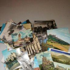 Fotografía antigua: SEGOVIA.LOTE DE 153 POSTALES. Lote 107830315