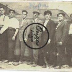Fotografía antigua: FOTOGRAFÍA GRUPO. TARJETA POSTAL DE UNIÓN UNIVERSAL DE CORREOS ESPAÑA. Lote 107929727