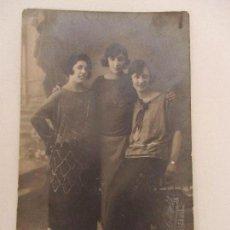 Fotografía antigua: TARJETA POSTAL - FOTO ESTUDIO - SEÑORAS - FOTÓGRAFO E. CASAS, LA BISBAL. Lote 107953867
